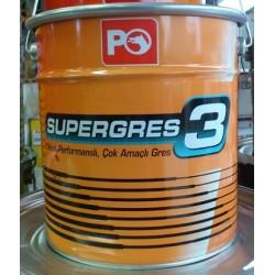 PETROL OFİSİ SUPER GRES 3  - 4 KG