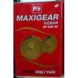 PETROL OFİSİ MAXIGEAR EP 80 18 LT