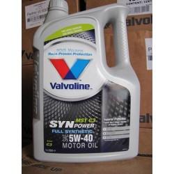 VALVOLINE SYNPOWER MST C3 5W40 5LT