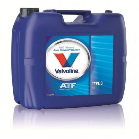 VALVOLINE ATF TYPE D II 20 LT