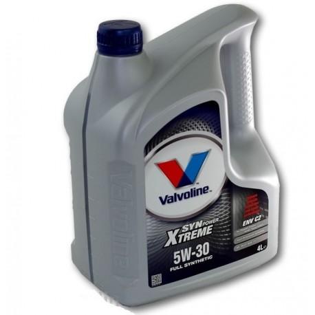 VALVOLINE SYNPOWER XTREME ENV C2 5W30 4LT