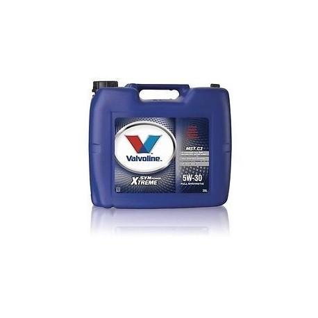 VALVOLINE SYNPOWER MST C3 5W30 20 LT