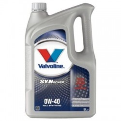 VALVOLINE SYNPOWER 0W40 4LT