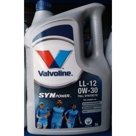 VALVOLINE SYNPOWER LL-12 FE 0W30 5LT