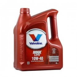 VALVOLINE MAXLIFE 10W40 4 LT